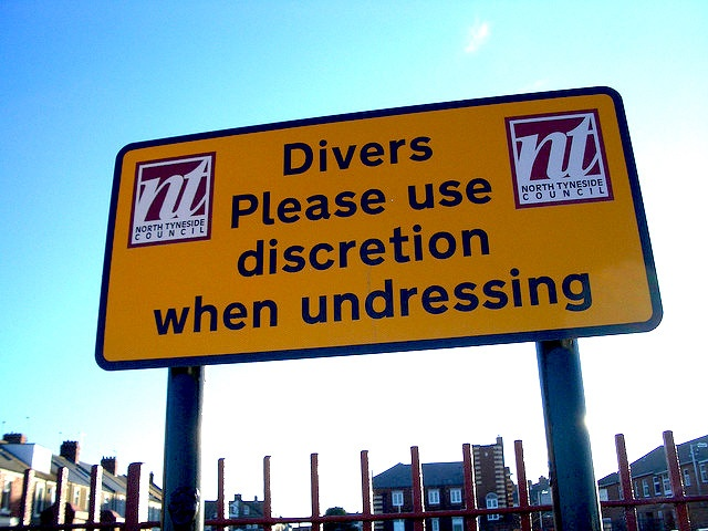 diver warning