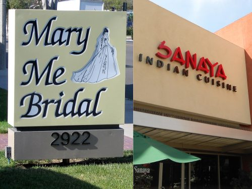 Retail Signs and Restaurant Signage Installation in Orange County, CA