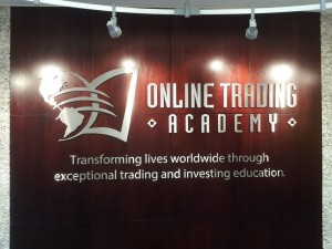 On Line Trading Academy-metal letters