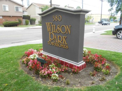 Wilson Park Monument Sign - Pre-Fabricated Foam Monument Signs from America's Instant Signs