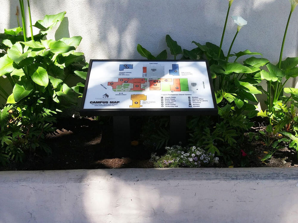 Way-Finding Map for Laguna Presbyterian by America's Instant Signs