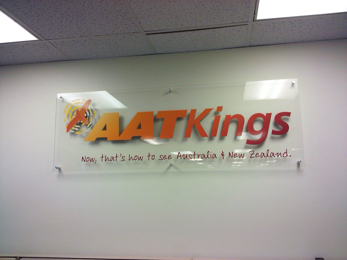 Acrylic Logo Panel Signs America S Instant Signs