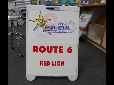 Anaheim-Resort-Transit-A-Frame-Sign