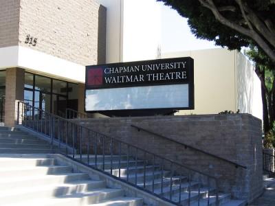 Chapman-University-Waltmar-Theatre-changeable-readerboard