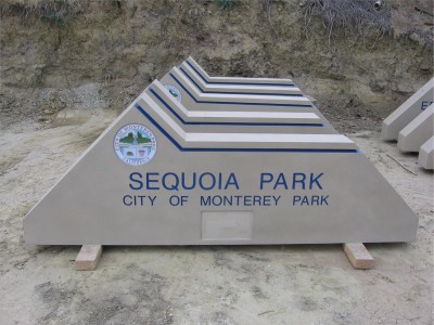 City-of-Monterey-Park-Pre-fab-Concrete-Monument-Signs