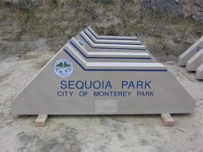 City-of-Monterey-Park-Pre-fab-Concrete-Monument-Signs