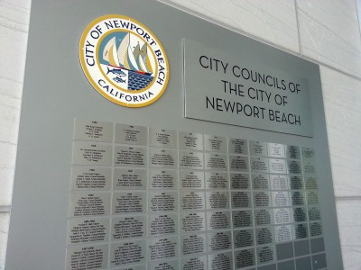 City-of-Newport-Beach-Aluminum-Awards-Panel-close-up