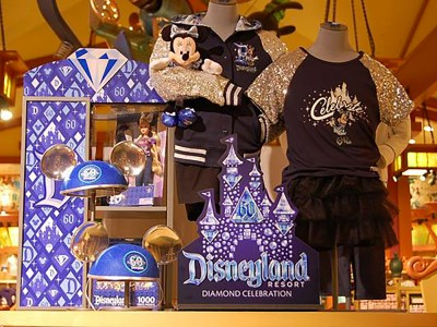 Disneyland-60th-Celebration-Dimensional-Merchandise-Display-1