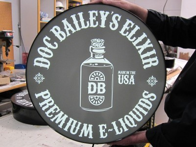 Doc-Baileys-Elixir-Custom-Light-box-Cabinet-for-Retail-Wall-Display