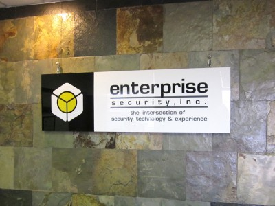 Enterprise-Security-White-and-Black-Acrylic-Panel-with-Vinyl-Graphics-2