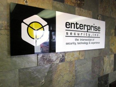 Enterprise-Security-White-and-Black-Acrylic-Panel-with-Vinyl-Graphics-3