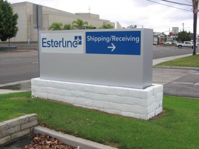 Esterline-Buena-Park-Monument-sign-cabinet