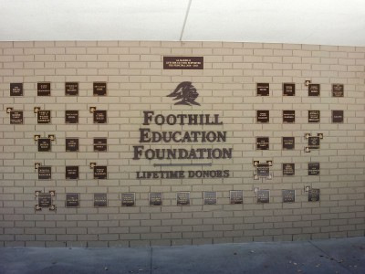 Foothill-High-School-Bronze-Plaques