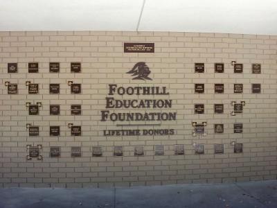 Foothill-High-School-Bronze-Plaques