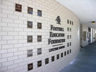 Foothill-High-School-Foundation-Wall