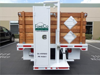 Fume-Co-Truck-back-lettering