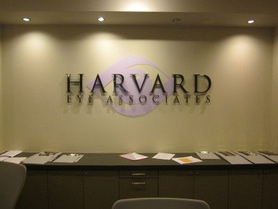Harvard-Eye-Associates-Dimensional-Acrylic-Lobby-Sign