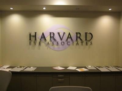 Harvard-Eye-Associates-Dimensional-Acrylic-Lobby-Sign