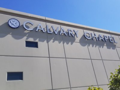 Calvary Chapel Channel letters