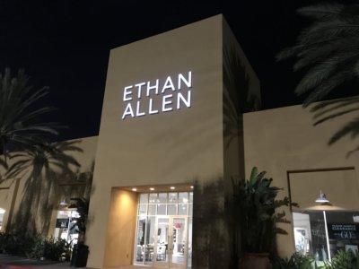 Ethan Allen Channel letters