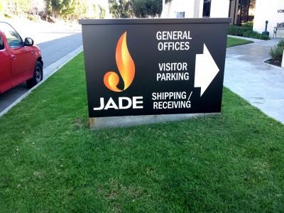 Jade-Aluminum-Monument-Sign