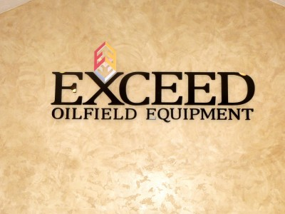 Midland-Exceed-Oil-foam-letters-with-acrylic-faces