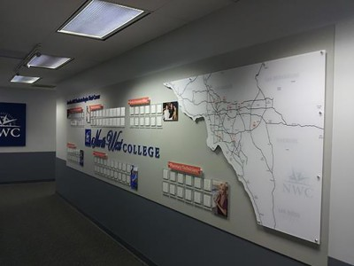 North-West-College-Long-Beach-Career-Wall-Display