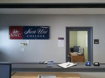 North-West-College-Santa-Ana-Acrylic-Lobby-Sign