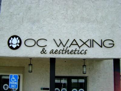 OC-Waxing-Flat-cut-aluminum-letters