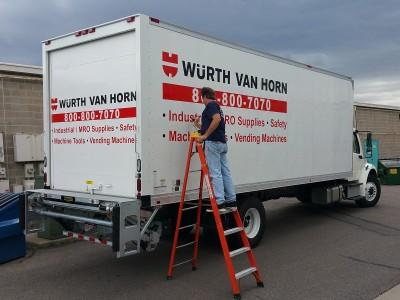 Oliver-Van-Horn-box-truck-lettering