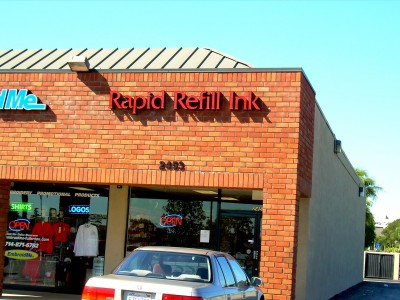 Rapid-Refill-Ink-Illuminated-Channel-Letters