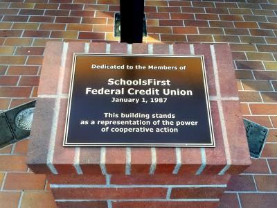 Schools-First-Credit-Union-cast-bronze-plaque1