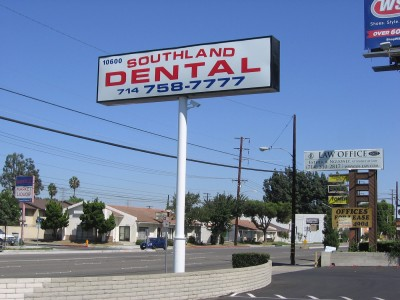 Southland-Dental-lightbox-face-replacement