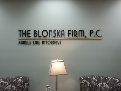 The-Blonska-Firm-Metal-Laminate-Letters-Lobby-Sign