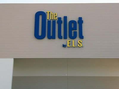 The-Outlet-front-lit-channel-letters-with-O-at-9-feet-tall-Azusa-CA1