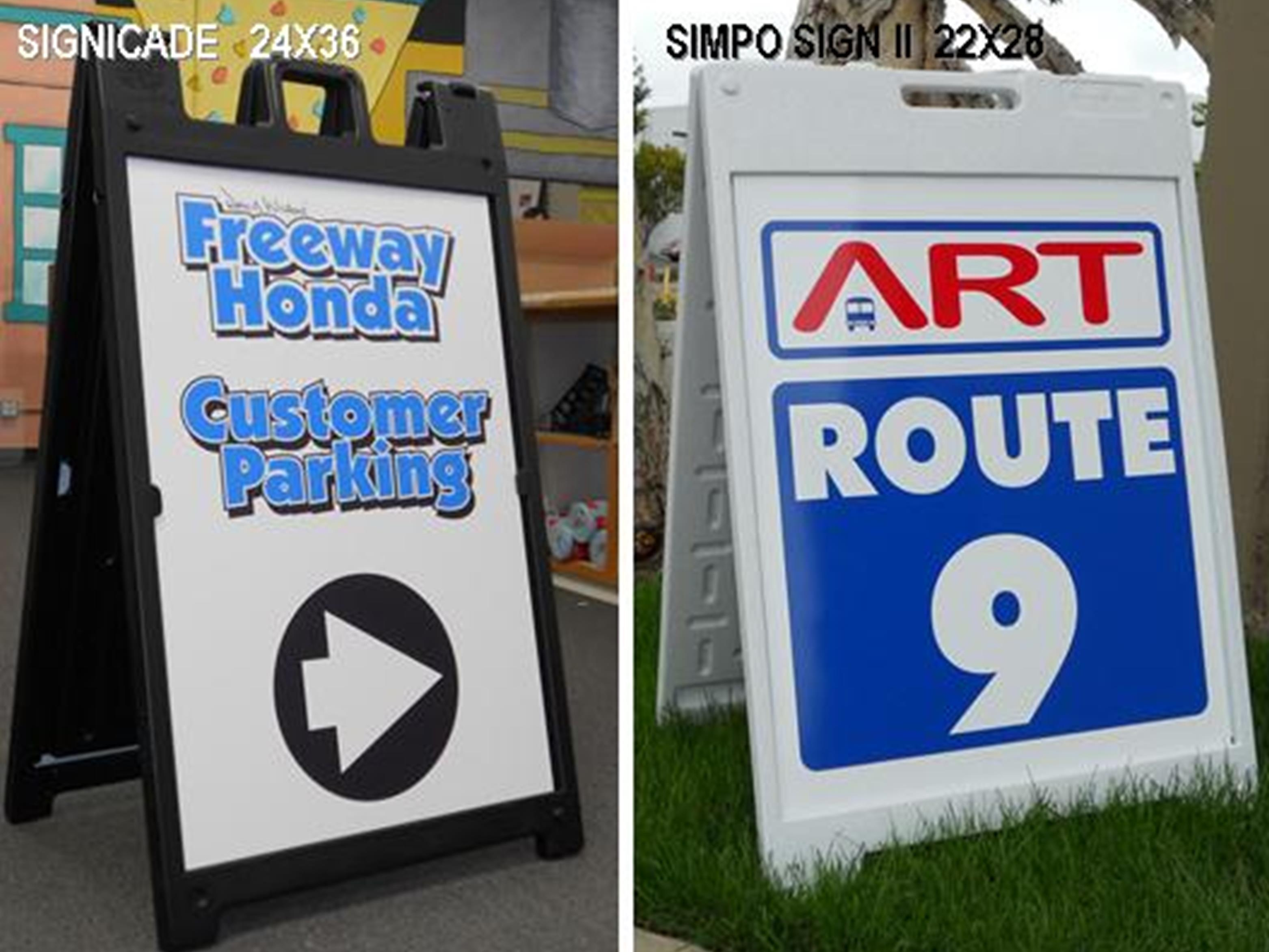 A-Frames | Sandwich Signs - America\'s Instant Signs