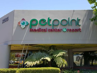 Petpoint Channel Letter Sign from America's Instant Signs