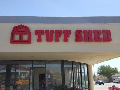 Tuff Shed Channel Letter Sign from America's Instant Signs