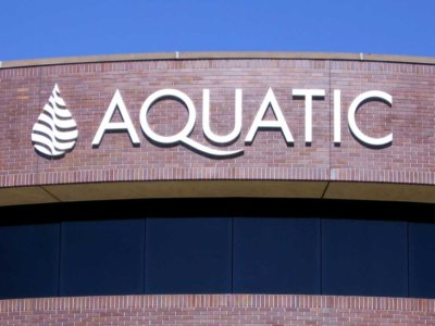 Aquatic Dimensional Foam Sign from America's Instant Signs