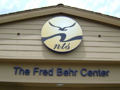 Fred Behr Center Dimensional Foam Sign from America's Instant Signs
