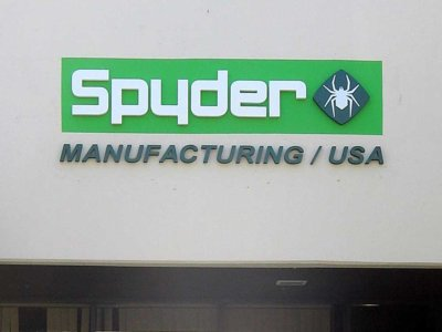 Spyder Dimensional Foam Sign from America's Instant Signs
