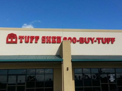 Tuff Shed Dimensional Foam Sign from America's Instant Signs