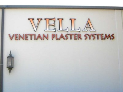 Vella Dimensional Foam Sign from America's Instant Signs