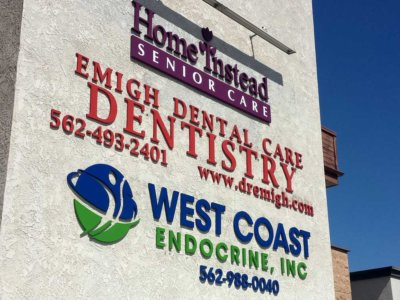 West Coast Endocrine Dimensional Foam Sign from America's Instant Signs