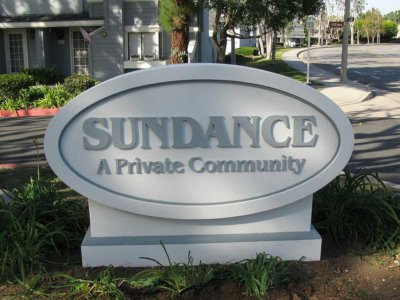 Sundance Community Monument Sign - Pre-Fabricated Foam Monument Signs from America's Instant Signs