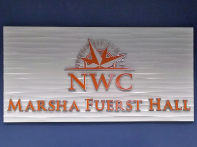 NWC Acrylic Lobby Sign from America's Instant Signs