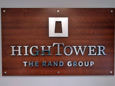 HighTower Lobby Sign from America's Instant Signs