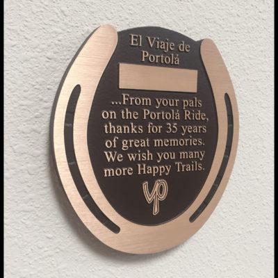 plaque-horseshoe